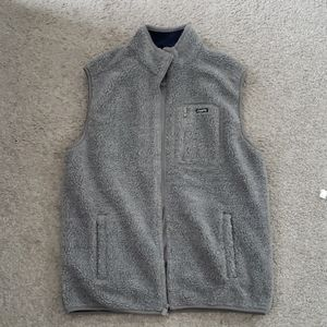 NWOT Chaps Sports Grey Soft Vest
